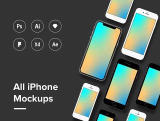 所有iPhone样机都有样机iPhone