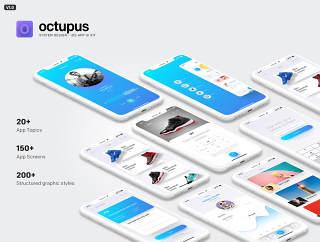 八达通 -  iOS应用UI套件,八达通 -  iOS应用UI工具包