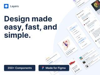 层是一个彻底的记录,包罗万象的设计系统,层 -  FIGMA设计系统