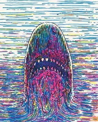 欧美艺术绘画创意美术手绘涂鸦抽象人物场景插画eps矢量设计素材-5