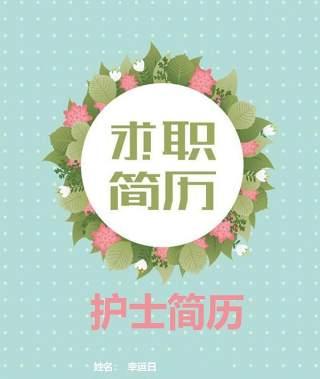 创意大气教师简历WORD模板27