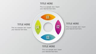 PPT信息图表元素圆形