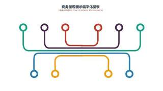 PPT信息图表商务情景3-2