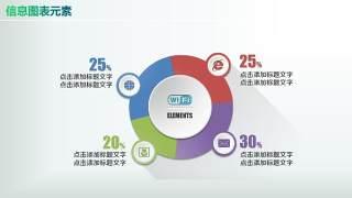 彩色PPT信息图表元素9-10