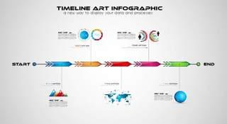 业务主题和信息图形元素08