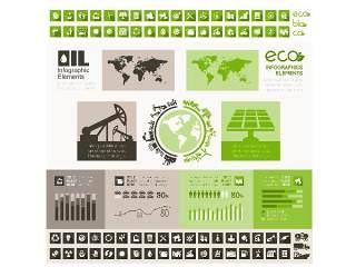 信息图形集世界地图和信息图形07