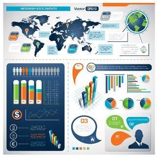 独家世界地图信息图表05