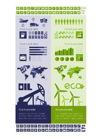信息图形集世界地图和信息图形06