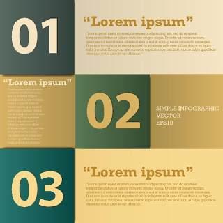 数字横幅信息图形的现代设计12