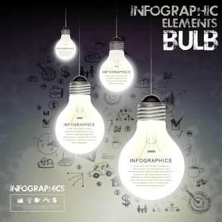 信息图形创意设计载体17