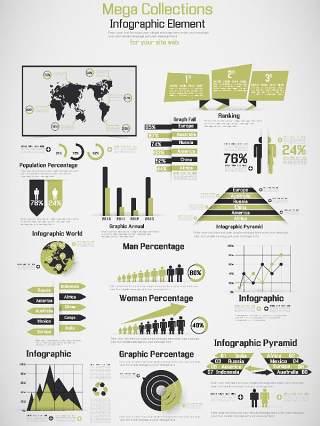 信息图形设计元素51