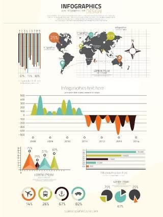 独家世界地图信息图表06