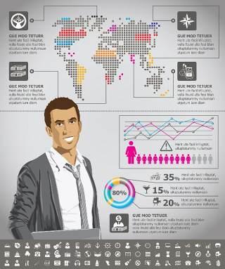 独家世界地图信息图表08