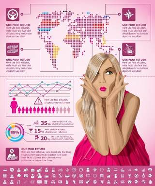 独家世界地图信息图表09