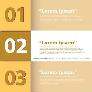 数字横幅信息图形的现代设计13