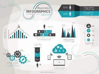 信息图形集世界地图和信息图形02