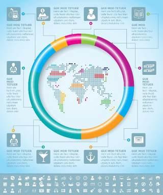 独家世界地图信息图表03