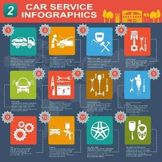 汽车信息图表18