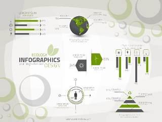 信息图形集世界地图和信息图形04