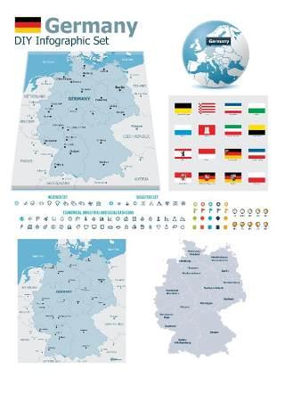 世界地图信息图表202