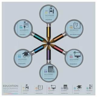 商业信息图表元素17