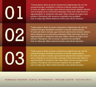 数字横幅信息图形的现代设计08