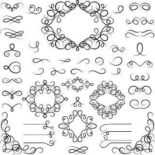 书画装饰设计元素3203
