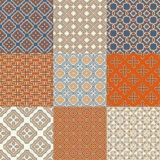 优雅的几何无缝图案集合14