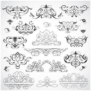 书画装饰设计元素3204