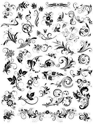 书画装饰设计元素3207
