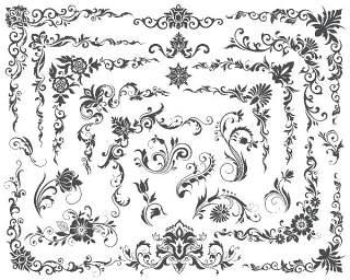 书画装饰设计元素3214