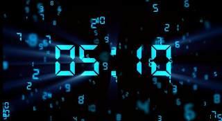 互联网科技数字化10秒倒计时(有音乐)