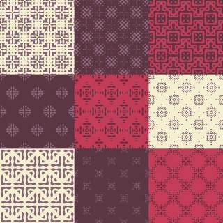 优雅的几何无缝图案集合21