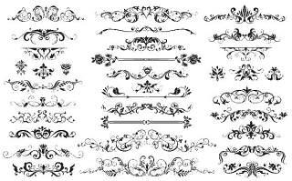 书画装饰设计元素3206