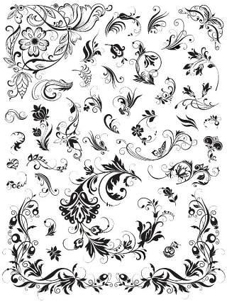 书画装饰设计元素3209