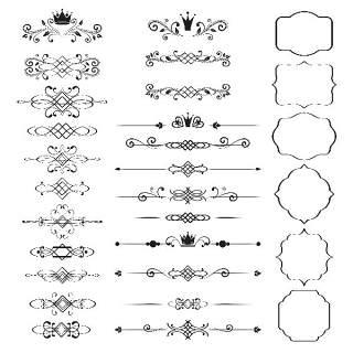 书画装饰设计元素3221