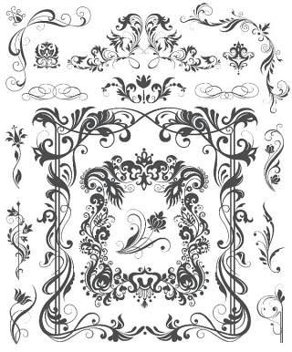 书画装饰设计元素3213