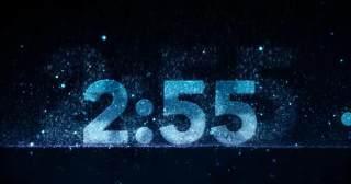 大气科技感颗粒倒计时3分钟(有音乐)