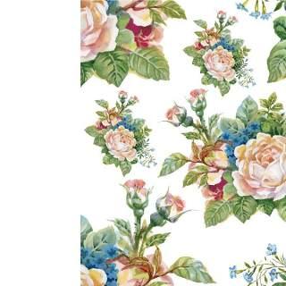 可爱的水彩无缝花卉和其他图案06