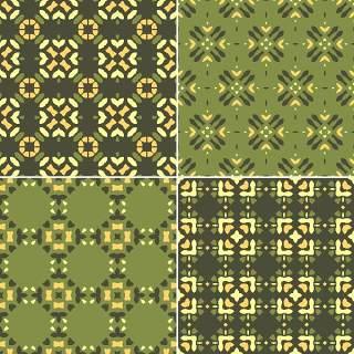 优雅的几何无缝图案集合19