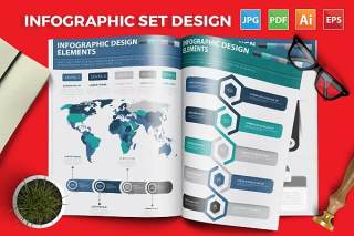 标题信息I图表元素模板 Infographic Elements