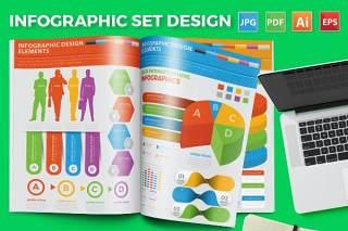 统计图形图表信息工具素材Infographic Tools