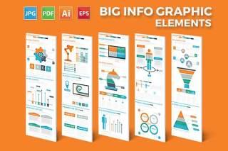商业商务信息图表图形元素Business Infographics Elements