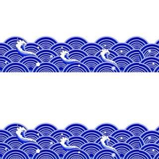 古典古风祥云云纹图案边框花边元素PNG免抠元素设计素材77