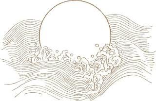 古典古风祥云云纹图案边框花边元素PNG免抠元素设计素材13