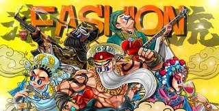 中国风卡通国潮京剧戏曲国粹花旦人物形象PSD插画海报设计素材11