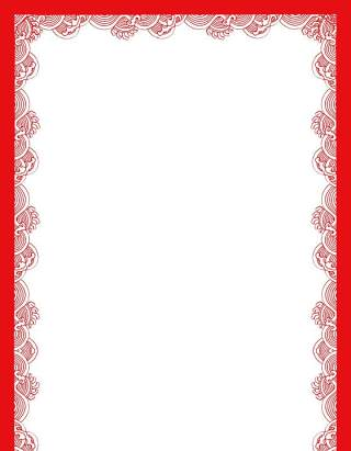 古典古风祥云云纹图案边框花边元素PNG免抠元素设计素材48