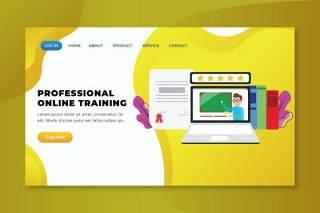 专业在线培训xd psd ai网页UI界面插画设计professional online training xd psd ai web page