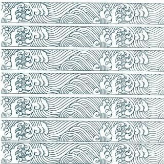 古典古风祥云云纹图案边框花边元素PNG免抠元素设计素材154