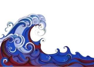 古典古风祥云云纹图案边框花边元素PNG免抠元素设计素材63